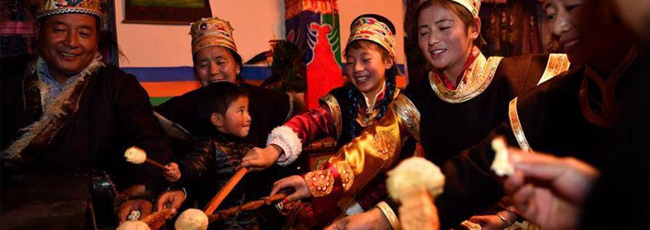 西藏工布地区:喜迎工布新年