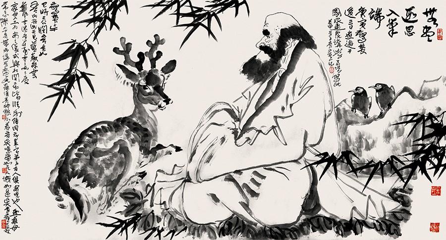 与艺术大师无缝对接的当代名家——李燕