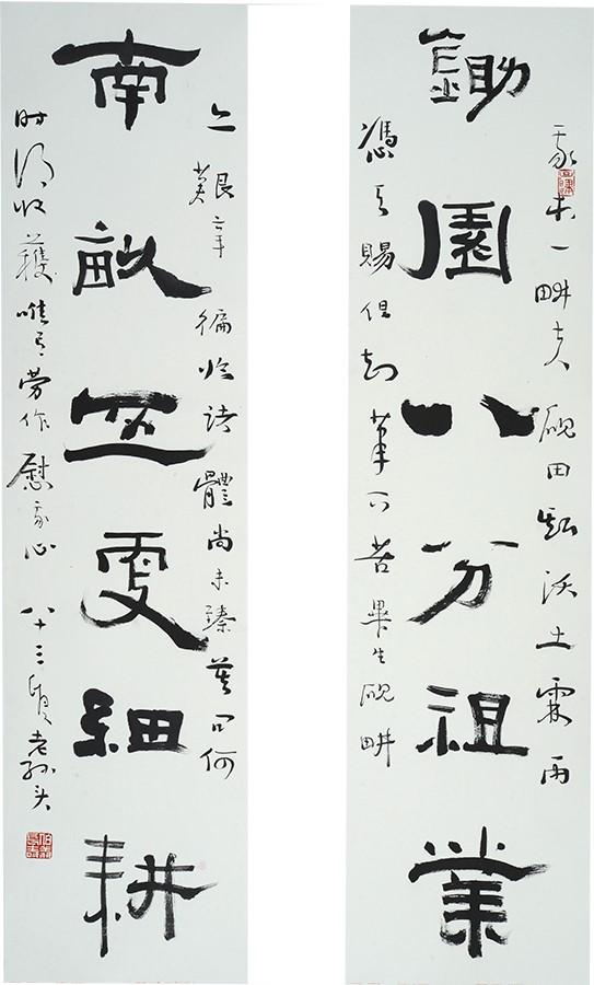 """当代""""魏碑""""书法的""""宝贝""""——孙伯翔"""