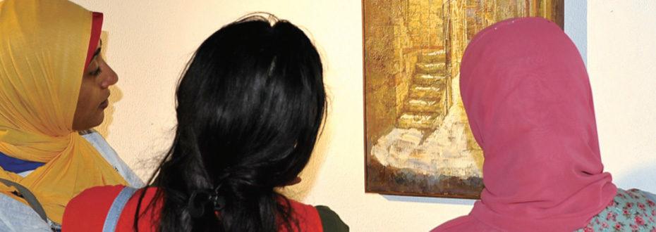 上海美术学院作品展在开罗获赞