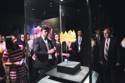 阿富汗国家博物馆藏珍宝展在深圳市南山博物馆开展