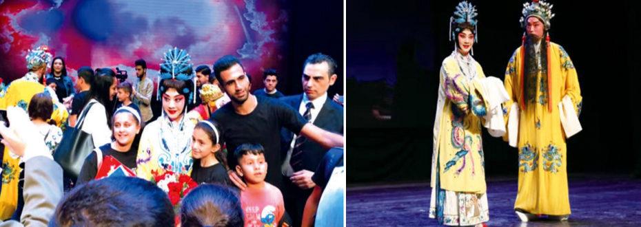 中东观众感受京剧动人之美