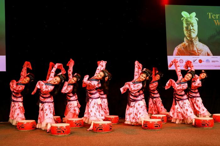 秦始皇兵马俑展在新西兰国家博物馆开幕