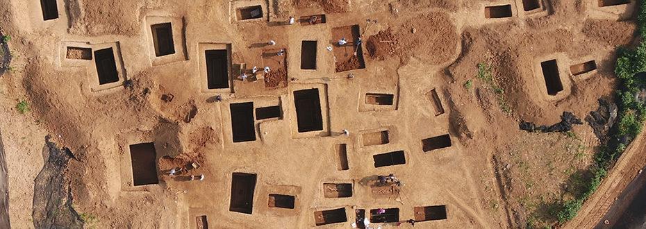 河南三门峡发现西周虢国邦墓 出土随葬品上千件