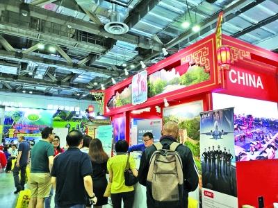 新加坡革新旅游展中国展台人气旺