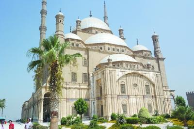 埃及开罗萨拉丁城堡印象
