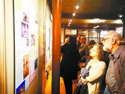 """美国纽约社区博物馆举办""""犹太人在哈尔滨""""图片展"""