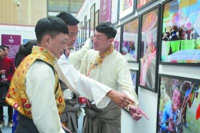 """""""藏西秘境 天上阿里""""主题展亮相河北博物院"""