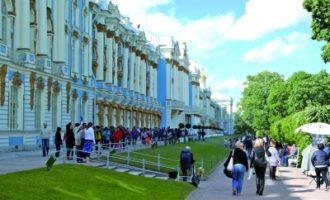 圣彼得堡叶卡捷琳娜宫印象