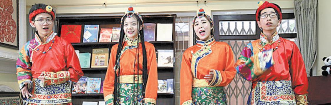 """""""美丽中国""""图片展在尼泊尔中国文化中心开幕"""