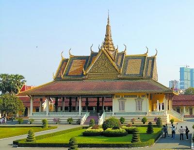 柬埔寨金边文化印象