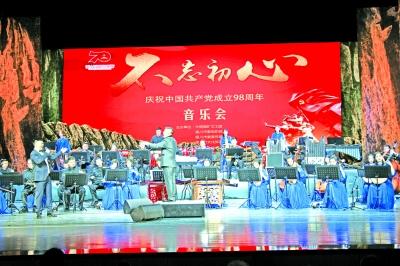 红色经典唱响塞上江南