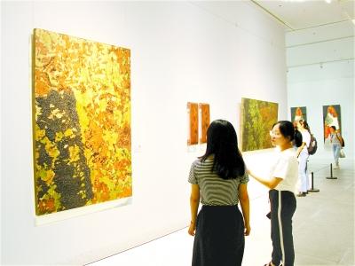 2019湖北国际漆艺三年展在湖北美术馆开幕