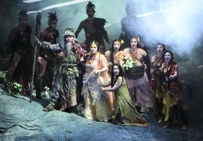上海歌剧院原创歌剧《天地神农》首演