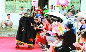 庆祝新中国成立70周年文艺巡演在修文县举行