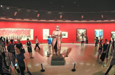 中国美术馆:艺术家笔下的中国70年