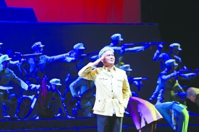 现代花鼓戏《远山丰碑》在京演出