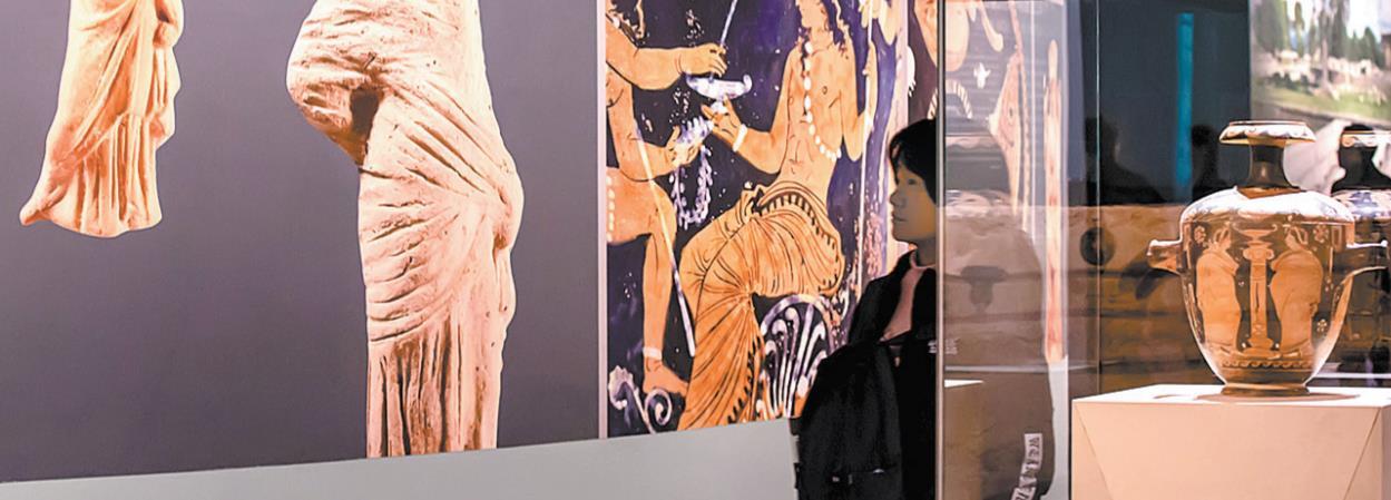 """彩绘地中海""""一座古城的文明与幻想""""展览26日在四川博物院开幕"""