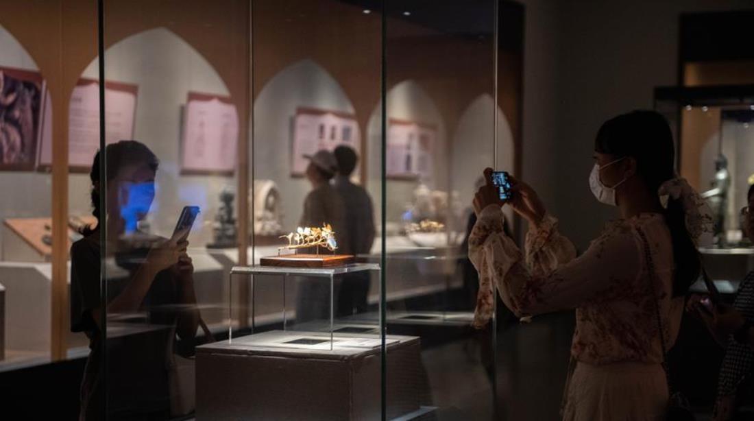 平山郁夫丝绸之路美术馆藏文物展在长沙开幕