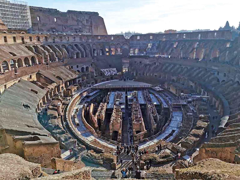 罗马废墟印象