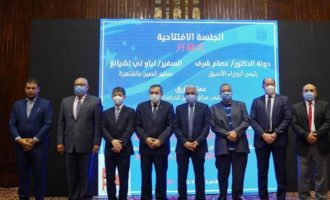 """""""后新冠疫情时代的人类命运共同体""""论坛在开罗举行"""
