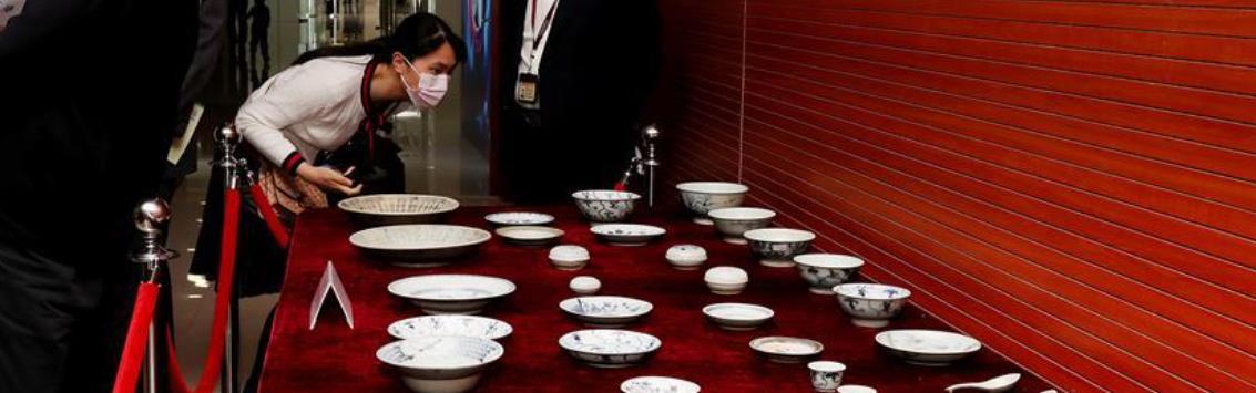 """""""泰兴号""""珍贵瓷器捐赠研讨会在中国航海博物馆举行"""
