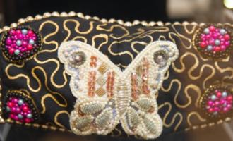 美国达拉斯举办口罩时尚展览