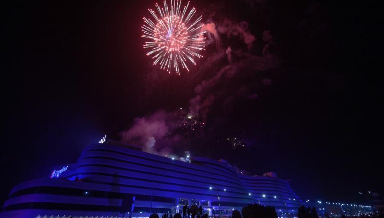 巴基斯坦新年焰火