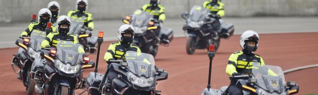 成都公安局举行警营开放活动