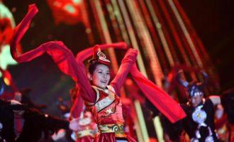 精彩纷呈的日喀则藏历新年晚会录制