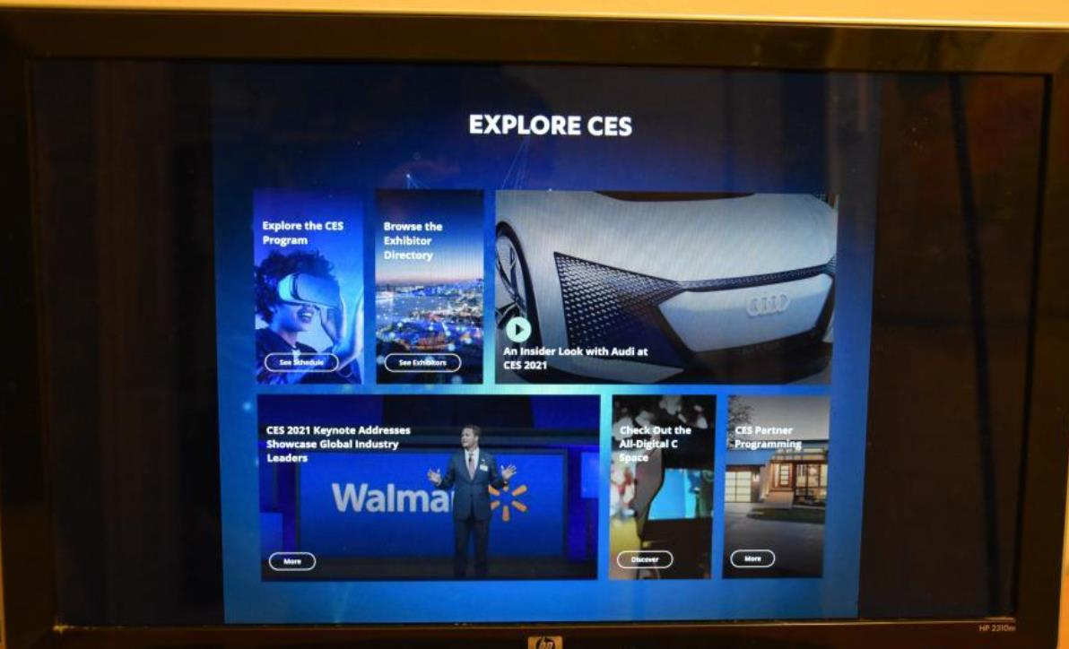 2021年美国消费电子展线上开幕