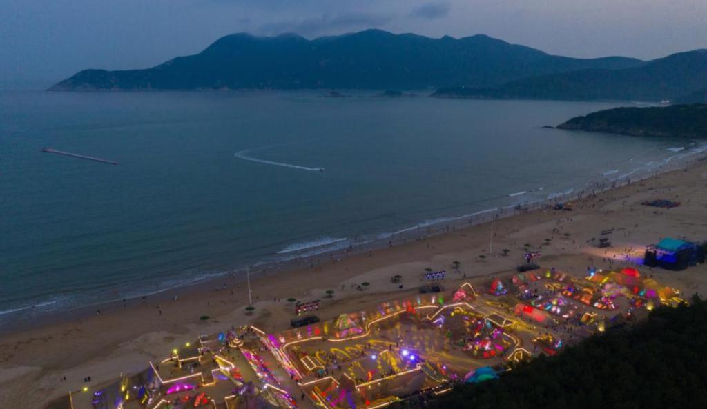 第二十二届中国舟山国际沙雕节正式开幕