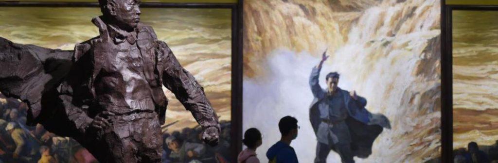 """""""在激流中前进——中国美术馆藏黄河题材美术精品展""""在京举行"""