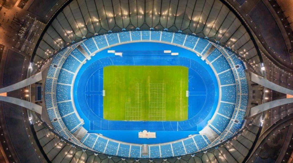 全景看中国援柬体育场项目